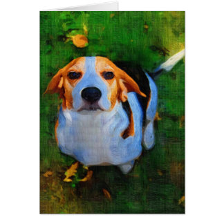 LUV MY BEAGLE CARD