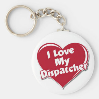 Luv my dispatcher keychain