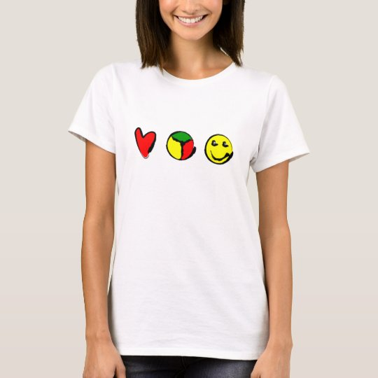 LUV, PEACE & HAPPINESS T-Shirt