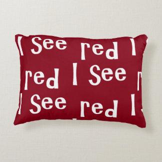 Luv U ❤️ Luv Me Designer Accent Cushion