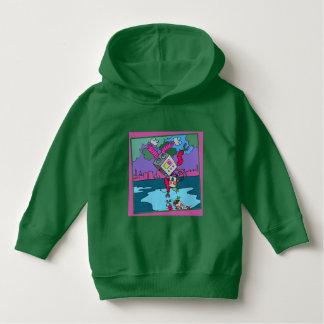 Luv U  ❤️ Luv Me green hoodie by DAL