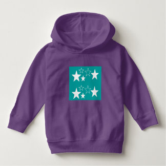 Luv U  ❤️ Luv Me toddler purple hoodie by DAL
