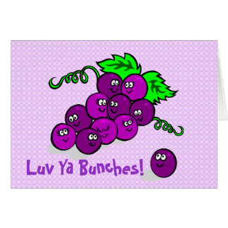 Luv Ya Bunches! Card