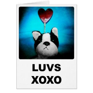 Luvs XOXO Card