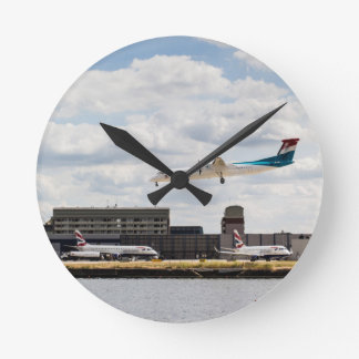 Lux Air London City Airport Wall Clock