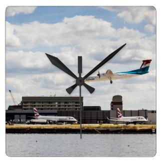 Lux Air London City Airport Wall Clocks
