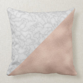 Luxe Gold & Marble [HQ] Throw Pillow