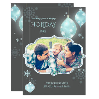 Luxe Jolly Holiday Photo Card