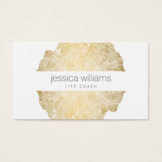 Luxe Wood Effect Art II Business Card