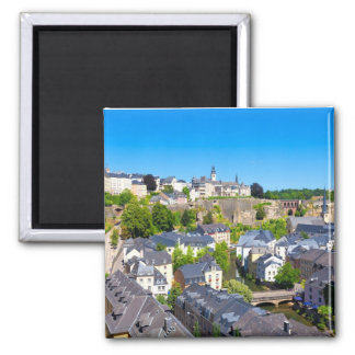 Luxembourg 001A Magnet