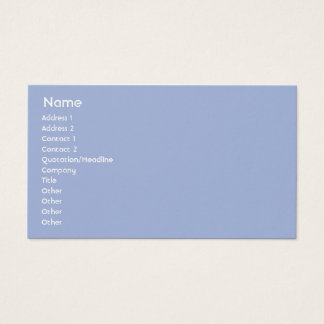 Luxembourg - Business Business Card