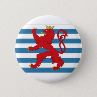 Luxembourg Civil Ensign 2 Inch Round Button