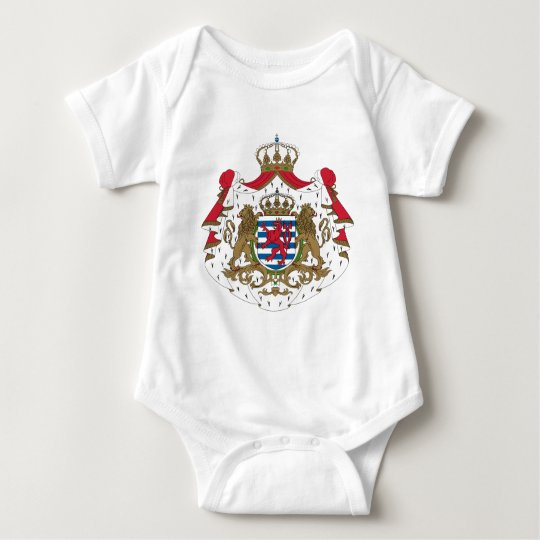 Luxembourg Coat Of Arms Baby Bodysuit