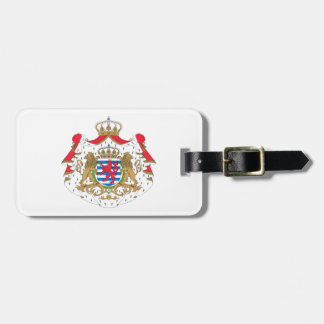 Luxembourg Coat of Arms Luggage Tag