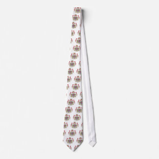 Luxembourg Coat Of Arms Tie
