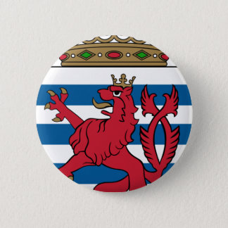 luxembourg emblem 2 inch round button