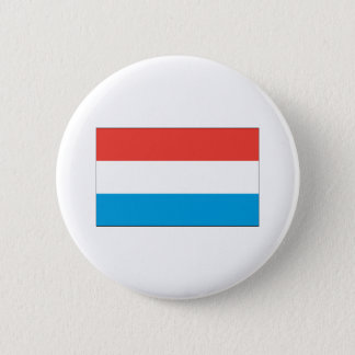 Luxembourg Flag 2 Inch Round Button