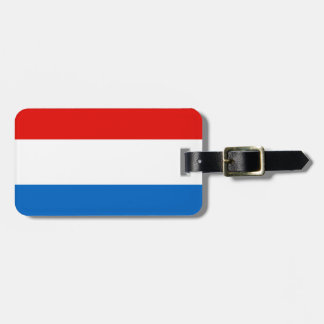 Luxembourg Flag Bag Tag