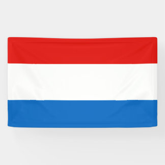 Luxembourg Flag Banner