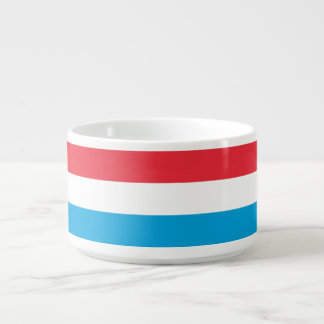 Luxembourg Flag Bowl