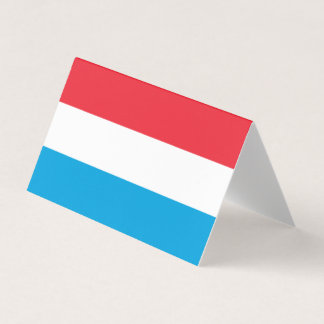 Luxembourg Flag Card
