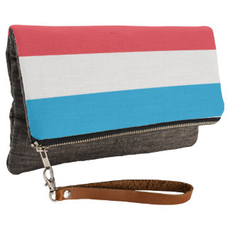 Luxembourg Flag Clutch