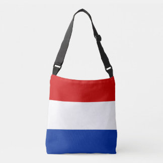 Luxembourg Flag Crossbody Bag