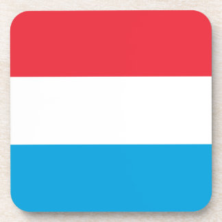 Luxembourg Flag Drink Coaster