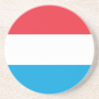 Luxembourg Flag Drink Coasters