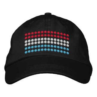 Luxembourg Flag Embroidered Baseball Caps