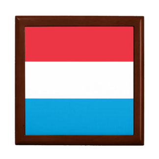 Luxembourg Flag Gift Box