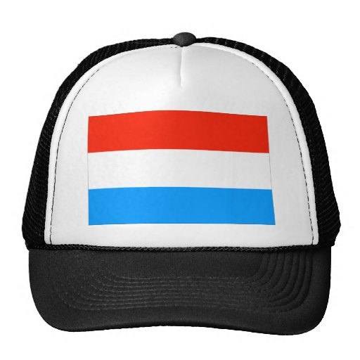Luxembourg Flag Mesh Hats