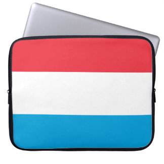 Luxembourg Flag Laptop Sleeve