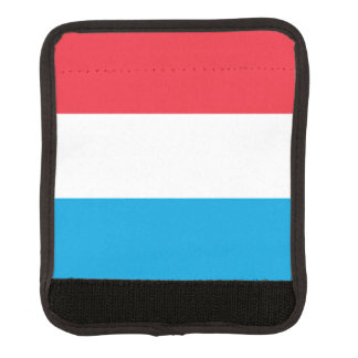 Luxembourg Flag Luggage Handle Wrap