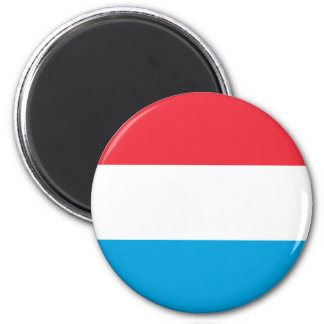 Luxembourg Flag Magnet