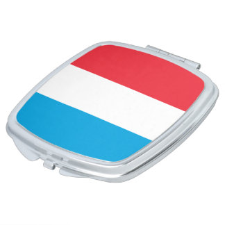 Luxembourg Flag Makeup Mirror