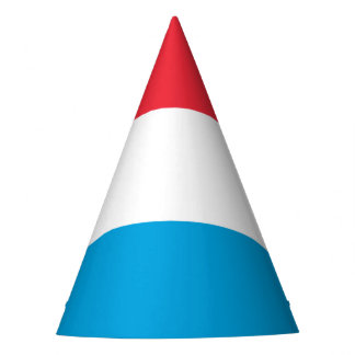 Luxembourg Flag Party Hat