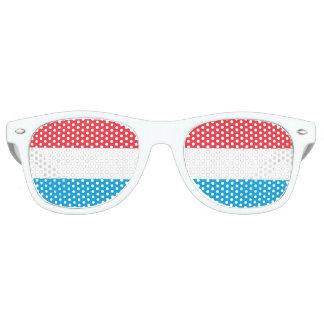 Luxembourg Flag Retro Sunglasses