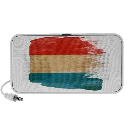 Luxembourg Flag Travel Speakers