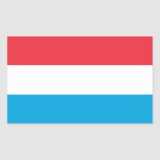 Luxembourg Flag Sticker
