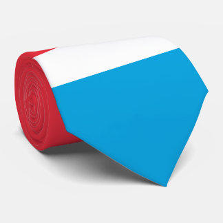 Luxembourg Flag Tie