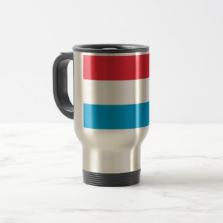 Luxembourg Flag Travel Mug