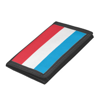 Luxembourg Flag Trifold Wallet