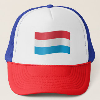 Luxembourg Flag Trucker Hat