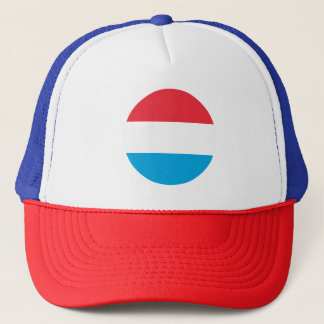 Luxembourg Flag Trucker Hat