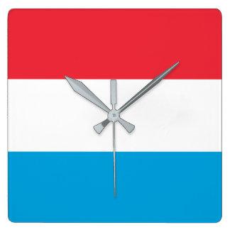 Luxembourg Flag Wallclock