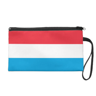 Luxembourg Flag Wristlet Clutches