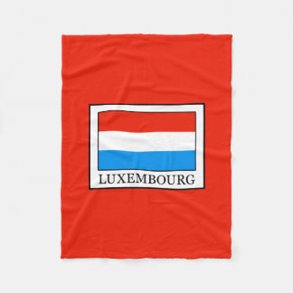 Luxembourg Fleece Blanket