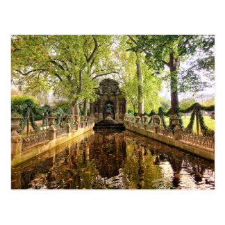 Luxembourg Gardens Postcard