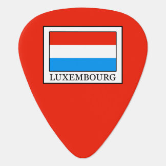 Luxembourg Guitar Pick